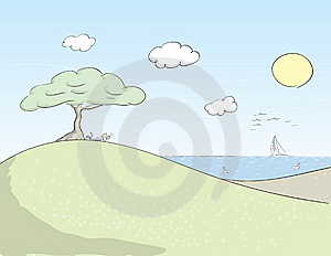 Relaxing Royalty Free Stock Image - Image: 14958056