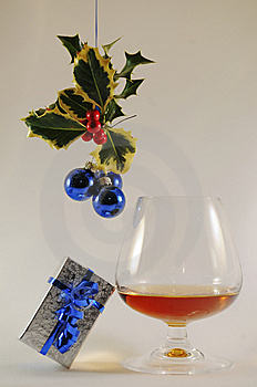 Christmas Drink Royalty Free Stock Image - Image: 14958136