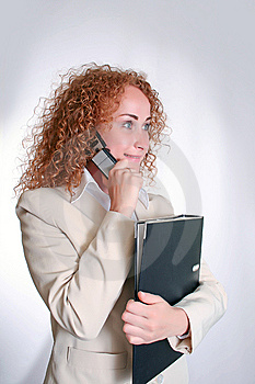 Business Woman Royalty Free Stock Photography - Image: 14960387
