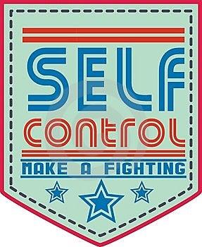 Self Control Stock Image - Image: 14960621