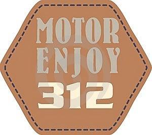 Motor Enjoy Royalty Free Stock Image - Image: 14960726