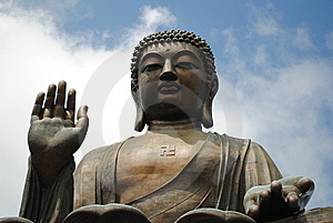 Hong Kong Tian Tan Buddha Stock Photography - Image: 14962832