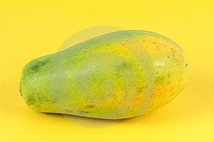Single Papaya Royalty Free Stock Photography - Image: 14962997