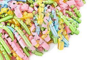 Party Ribbons Royalty Free Stock Photos - Image: 14964318