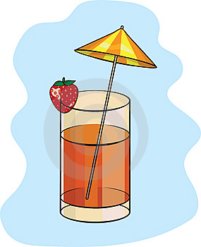 Summer Strawberry Coctail Royalty Free Stock Photos - Image: 14965068