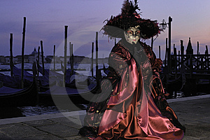 Venetian Mask Stock Image - Image: 14965101