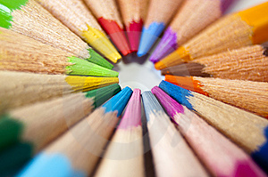 Colored Pencils Stock Images - Image: 14965284