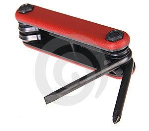 Folding Tool Kit Stock Image - Image: 14966871