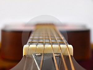 Acoustic Guitar Neck Royalty Free Stock Images - Image: 14966959