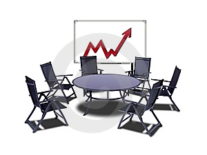 Meeting Table Royalty Free Stock Photography - Image: 14972597