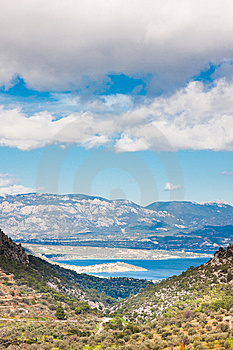 Landscapes In The Peloponesse Stock Images - Image: 14972934