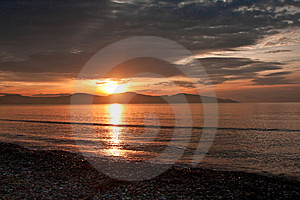 Sunrise At Nafplio Royalty Free Stock Photography - Image: 14972937