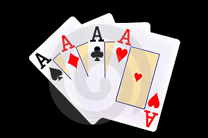 Four Aces Royalty Free Stock Photography - Image: 14974257