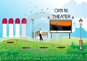 Open Air Theater Stock Image - Image: 14975181