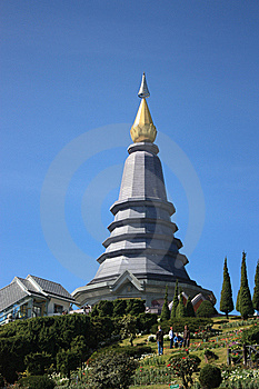 Pratat Noppaphol Bhumasiri On Doi Inthanon Chaingm Royalty Free Stock Image - Image: 14976166