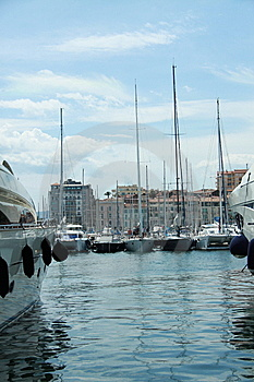 Cannes Harbour Stock Images - Image: 14976244