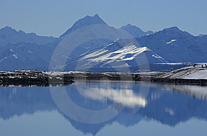 Mt Cook Royalty Free Stock Images - Image: 14976369