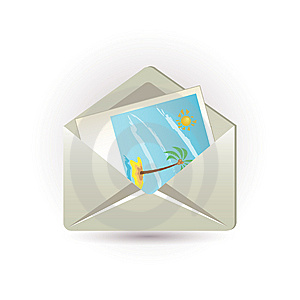 Letter And Picture Stock Photo - Image: 14977580
