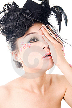 Beautiful Woman With Perfect Makeup Royalty Free Stock Photography - Image: 14979107