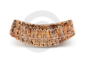 Basket From Palm Leaves Stock Images - Image: 14981714