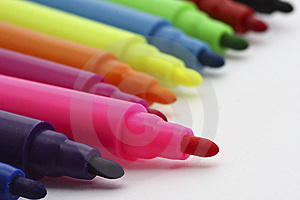 Colorful Felt-tip Pen Stock Photo - Image: 14982390
