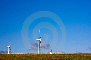 Wind Turbines Royalty Free Stock Photos - Image: 14983138