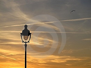 Sunset Lights Royalty Free Stock Images - Image: 14983869