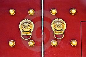 Red Door Stock Images - Image: 14983874