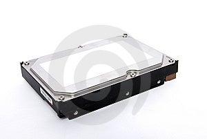 Hard Disk Isolated On White Royalty Free Stock Image - Image: 14988986