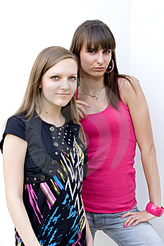 Two Female Friends Stock Images - Image: 14989764