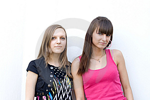 Two Female Friends Stock Photography - Image: 14989782