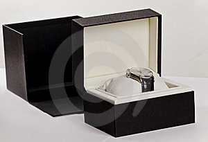 Watch In A Box Royalty Free Stock Images - Image: 14992469