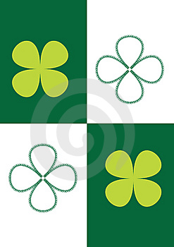 Picture Of Four-leaf Clover Royalty Free Stock Photos - Image: 14993638