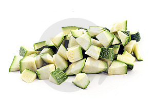 Pieces Of Zucchini Stock Images - Image: 14993674