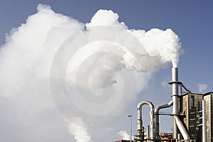 Industrial Chimney Stock Image - Image: 14994151