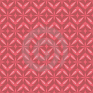 Red Flower Pattern Royalty Free Stock Images - Image: 14995229