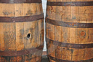 Vintage Barrels Royalty Free Stock Images - Image: 14997389