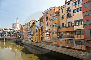 View Of Girona Royalty Free Stock Image - Image: 14997736