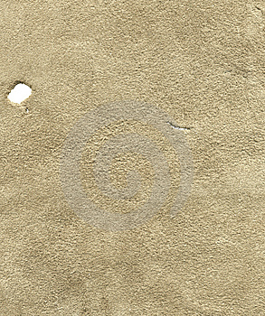 Beige Suede | Holes Isolated Stock Photo - Image: 14998200