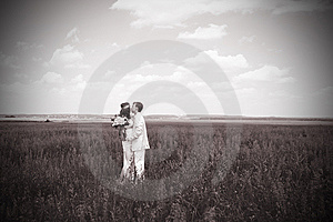 Just Married Couple Royalty Free Stock Photos - Image: 14999578