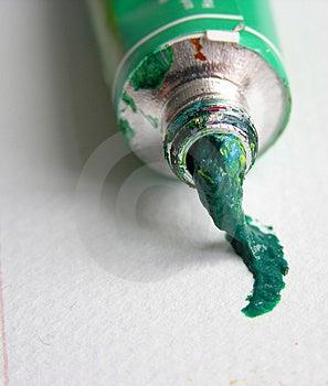 Colour Tube Free Stock Image
