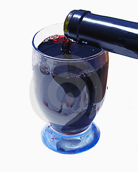 Red Wine for Heath Royalty Free Stock Image