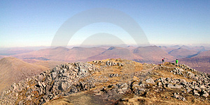 View From Stob Ghoar Stock Images