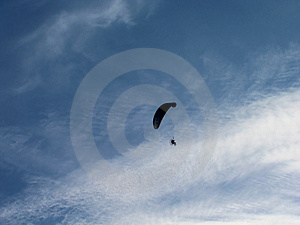 Motoglider Stock Photography