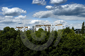 Bautifulplatteland Royalty-vrije Stock Foto
