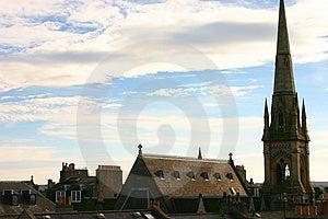 Szkocki niebo Fotografia Stock