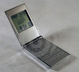 Business desktop electronic watch Stock Photos