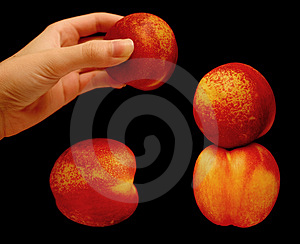 Stacking Nectarines Free Stock Photos