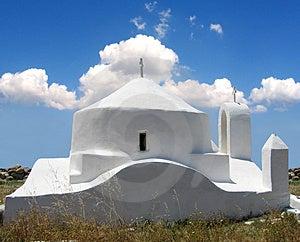 Une petite église Photographie stock