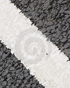 Road Markings Free Stock Photography